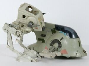 Vintage Kenner Star Wars SLAVE 1 Original Boba Fett Ship 1982 Scput Walker VTG
