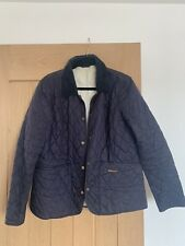 LIGHTWEIGHT LADIES BARBOUR NAVY QUILTED JACKET SIZE 18