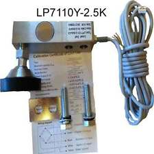 LP7110Y-2.5K IDS608 Beam Load Cell 2500 LB,NTEP,w/foot/spacer/bolts NIB