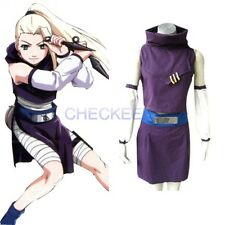 Anime Naruto Yamanaka Ino Halloween Costume Cosplay party clothes