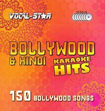 VOCAL-STAR Bollywood hindi KARAOKE CDG DISC BOX SET - 150 cd + g CANZONI - 10 Dischi