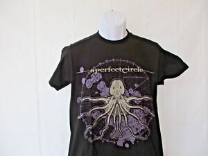 A Perfect Circle T Shirt Octoheart Band Logo Nouveau Officiel Homme Size S