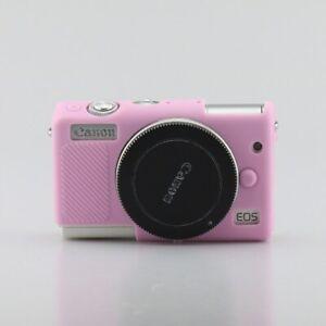 Case Rubber Cover Skin For Canon EOS M100 Protective Body Soft Silicone Camera