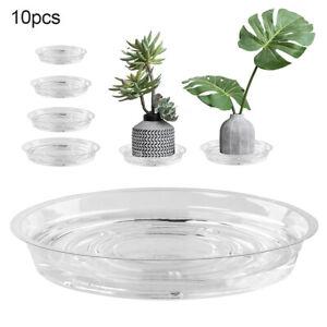 10 X Saucer Base Round Plant Flower Pot Plate Water Drip Tray Planter Garden