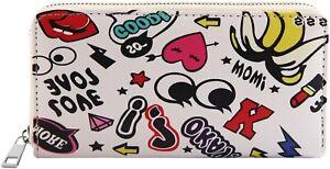 Damen Geldbörse Portemonnaie Brieftasche Börse Reißverschluss  NEU 022 1