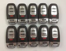 LOT OF 10 AUDI REMOTE SMART KEY LESS ENTRY A6 A7 S8 Q5 S7 RS7 A8 09-17 OEM NKLG