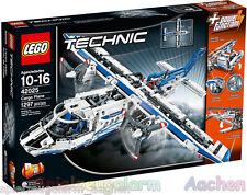 LEGO 42025 TECHNIC 2in1 Frachtflugzeug Cargo Flugzeug Hoovercraft Luftkissenboot