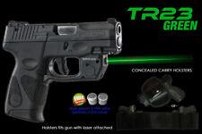 Arma Green Laser Tr23 Taurus Pt111/Pt140 Millennium Pro G2 G2C G2S G3 G3c w/Hstr