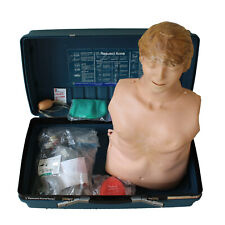 Laerdal Resusci Anne Adult CPR First Aid Training Manikin Torso Case Accessories