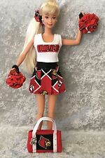 U Of L BARBIE CHEERLEADER UNIFORM University Of Louisville Cardinals Football