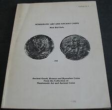 Numismatic Art And Ancient Coins Catalogue #1 Greek Roman Byzantine