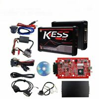 Red Version Tuning Kit Programmer Tool KESS V2 Unlimited Master Online  ECU OBD2