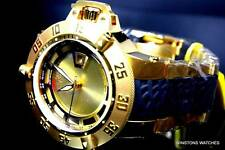Mens Invicta Subaqua Noma III Gold Plated Swiss Made 6511 Steel Watch New