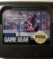 WWF Wrestlemania Steel Cage Challenge (Sega Game Gear) Cartridge WWE Wrestling