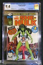 Savage She-Hulk #1 CGC 9.4 White Pages Origin Issue 1980