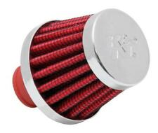 K&N 62-1600RD PCV Filter 3/8 to 1/2 inlet Red Crankcase Mini 1726