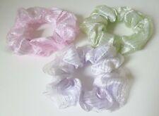 Satin Hair Scrunchies for Girls