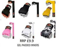 New Gel Inner Hand Wraps Boxing Gloves Fist Padded Bandages MMA PAD RRP9.99