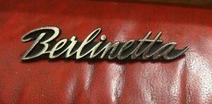 Berlinetta Emblem Name Plate Badge p/n 3458320