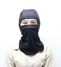 Black Balaclava Full Face Mask Skiing Mask Cycling Mask Outdoor Sport Face Mask