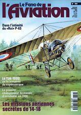Le FANA de l' AVIATION N°360.  novembre 1999.  P-63 - Le Yak-1000.....
