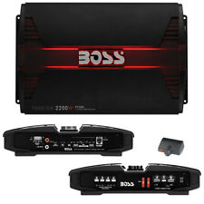 NEW BOSS PHANTOM PT2200 2 CHANNEL 2200 WATT AMP CAR AUDIO 2200W 2CH AMPLIFIER