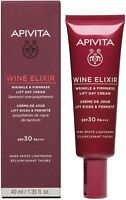Apivita Wine Elixir Wrinkle Firmness Lift Day Cream Spf 30 For Dark Spots 40ml
