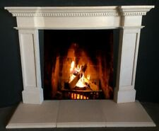 Cast Stone Fireplace Mantle - Stone Mantel Cast - Easy Installation