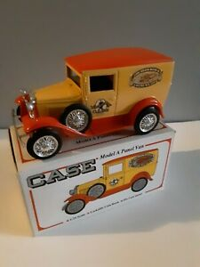 Case 150th Anniversary model A panelTruck Bank 1/25 scale. Diecast metal.