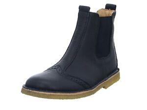 Bisgaard Nori Chelsea Boots Stiefel Mädchen Größe 23 Leder blau