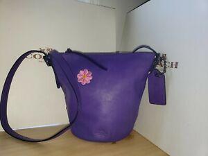 Coach Bleecker Mini Duffle  Crossbody Bag 32281