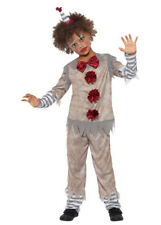 Childrens Halloween It Clown Style Costume