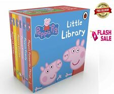 Pepa Pig Child Gift Little Library Board Book for Kids & Toddler