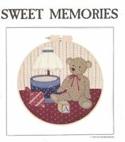 Country Appliques SWEET MEMORIES Design for Machine or Hand Applique Teddy Bear