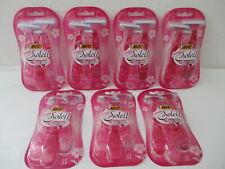 NEW Bic Simply Soleil 3 Blade Womans Razors 7-3 packs=21 RAZORS Total FREE SHIP