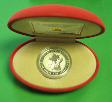 Canada 2003 silver Maple Leaf Good Fortune Cao and Box