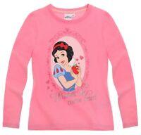 DISNEY t-shirt PRINCESSES 2 6 ou 8 ans  BLANCHE NEIGE rose NEUF