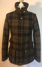Joules Ladies Tweed Field Coat Jacket - AngustW - Size 8