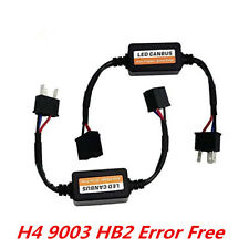 H4 9003 HB2 Car LED Headlight Conversion Kit CANBUS Error Free Resistor Decoders