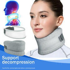 Adjustable Neck Brace Foam Cervical Collar Support Relief Pain Stretcher Therapy