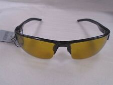 Ugly Fish Polarised Sunglasses PT24285 Shiny Black With Yellow Lens RRP £69.99!!
