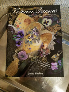 Holiday Special! Victorian Pansies Embroidery by Jenny Haskins/patterns