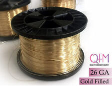 5meter (16.4 feet) yellow gold filled wire, 26 gauge (0.4mm) - available in bulk