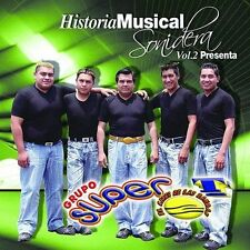 Super T, Grupo-Historia Musical Sonidera Vol. 2 CD NEW