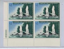 1977 Migratory Bird Hunting Stamp Block MNH $5.00