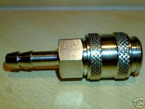 8mm Hosetail Minibore SIZE  RECTUS 21 Quick Release Connector