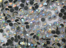 14400 PCS SS10 Hotfix Iron on Rhinestone Crystal AB Crystal 3mm 100gross