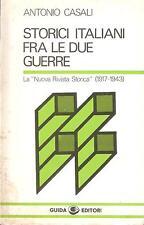"""STORICI ITALIANI FRA LE DUE GUERRE. LA """"NUOVA RIVISTA STORICA"""" (1917-1943)"""