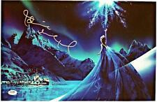 "IDINA MENZEL signed FROZEN ""Elsa""  Auto 11x17 Photo w/ PSA/DNA COA #2"