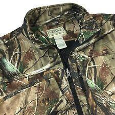 LL Bean Realtree AP Camo Hunting Jacket Mens Size L